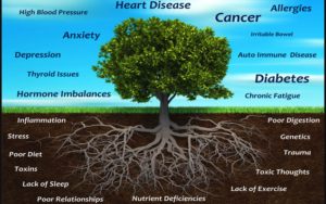 Functional medicine root cause